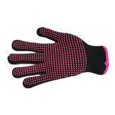1pc PVC Dot Plastic Safety Protecting Glove Elastic Cuff Insulated Resistant High-temperature Glove