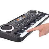 61 клавиша детская электронная музыка Клавиатура электрическая цифровая пианино-орган для раннего образования + Микрофон и USB