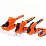 PVC Pipe Cutter Aluminum Alloy Body Ratchet Scissors Tube Cutter Hose Cutting Tools Pipe Scissors