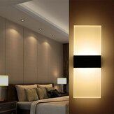 AC85-265V 3W Modern LED Wall Light Up & Down Cube Indoor Tempat Lilin Pencahayaan Fixture Lampu Dekorasi Rumah