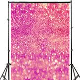 3x5FT 5x7FT Vinyl Pink Shining Glitters Fotografia Tło Studio Prop