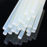 10Pcs 11mm x 19cm Clear Melt Glue Adesivo Sticks Striscia adesiva ambientale