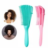 Detangling Brush For Curly Hair Knots Detangling Easy Clean Combs For Afro America/African Hair Textured 3a To 4c Kinky Wavy/Curly/Coily/Wet/Dry/Oil/Thick/Long Hair