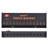 MOSKY JUICE POWER DC 18V 12 Izolowane złącze zasilania dla 9V 12V 18V Guitar Effect Pedals