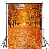 5x7ft Vinyl Autumn Fall Photography Background Photo Studio Prop Backdrop