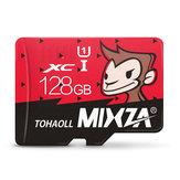 Maymun Sınırlı Baskı Mixza Yılı 128 GB U1 TF Dijital Kamera MP3 TV için TF Mikro Hafıza Kartı Kutu Akıllı Telefon