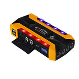89800mAh Multifunctional Jump Starter Emergency Start Power USB with Safety Hammer