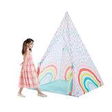 100cm * 140cm duży namiot do zabawy dla dzieci tipi pokój zabaw dla dzieci indyjski dom zabaw pokój gra dla dzieci na zewnątrz w domu