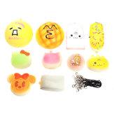 10 sztuk zabawek dla dzieci zabawki pianka z pianki elastyczna piłka zabawne zabawki dla dzieci Cartoon QQ Expression Toy