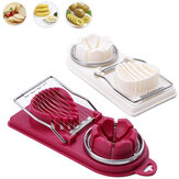2 In1 Multifunction Egg Slicers 304 Stainless Steel Egg Cutter Wire Kitchen Accessories Slicing Gadgets Cooking Tools