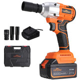 Original              TOPSHAK TS-PW2 Brushless Cordless Electric Wrench 330N.m Max 3000 BPM 3.0A Impact Wrench with Lithium Ion Battery