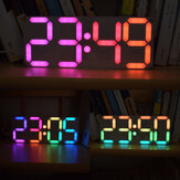 Geekcreit® Large Size Rainbow Color Digital Tube DS3231 Clock Electrotic DIY Kit