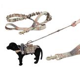 सामरिक मल्टी-फ़ंक्शन बहुमुखी लम्बे प्रशिक्षण कुत्ते बंजी लीश शिकार सैन्य नायलॉन रस्सी