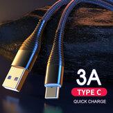YKZ 3A Type-C Micro USB Cable de datos de carga rápida para Samsung Galaxy Note S20 ultra Huawei Mate40 para OnePlus 8 Pro