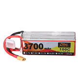 ZOP Power 22.2V 3700mAh 100C 6S Lipo Батарея XT60 Разъем для FPV RC Дрон