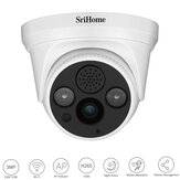 SriHome SH030 HD 3MP 1296 P IP Camera H.265 ONVIF Wifi Camera AP Hotspot 3X Digital Zoom Motion Detections Alarm Security CCTV Cam