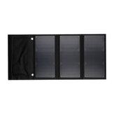 30W 5V Pieghevole solare Pannello Power Bank Dual USB Caricatore rapido portatile impermeabile