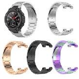 Bakeey roestvrijstalen horlogeband met bandaanpassingsgereedschap voor Amazfit T-REX A1918 Smart Watch
