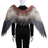 Volwassen Japanse Game Onmyoji Cosplay Tengu Bird Carnival Costume Large Big Wings