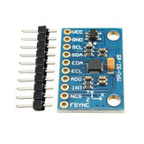 3Pcs MPU-9250 GY-9250 9 Axis Sensor Module I2C SPI Communication Board Geekcreit for Arduino - products that work with official Arduino boards