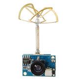 JJA-TCYH42 5.8GHz 48CH راسيباند 25mW / 200mW للتحويل 1200TVL كموس بال / نتسك كاميرا فبف قابلة للتحويل