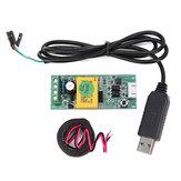 PZEM-004T Massimo Modulo 100A AC Monitor di Potenza Modulo Comunicazione