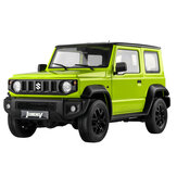 Eachine&FMS RC12002 JIMNY SUZUKI  RTR 1/12 RC Car with 2.4G Two Speed Transmission RC Crawler with LED Lights For Enthusiasts RC Car Vehicles Model