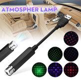 USB na dach samochodowy Gypsophila / pięcioramienna gwiazda LED Night Light Romantyczna lampa sufitowa z atmosferą wnętrza