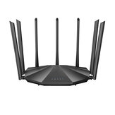 Tenda AC2100 Dual حزام جيجابت WiFi Router Wireless Router 2033Mbps 4X4 MU-MIMO 7 * 6dBi خارجي Antennas WiFi Router