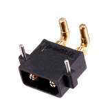 AMASS XT30PW Banana Golden XT30 Upgrade Male Plug Conector para ESC Motor PCB Board