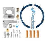 Creality 3D Ender-3/3S / 3Pro / 5 Grey Extruder + PTEF Tube with 4Pcs Spring Upgrade Kit