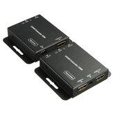 Extensor HDMI con lazo IR Cable repetidor sobre Ethernet Cat5e / 6 hasta 60M POE