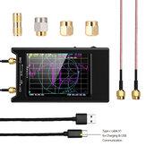 NanoVNA-H4 4インチLCD 50KHz〜1.5GHz VNA HF VHF UHF UVベクトルネットワークアナライザー