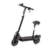 [EU DIRECT] LAOTIE ES10 2000W Dual Motor 23.4Ah 52V 10 Inches Folding Electric Scooter with Seat 70km/h Top Speed 80km Mileage Max Load 120kg