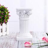 ローマの柱ギリシャの列の樹脂の置物ベースの結婚式のテーブルの装飾