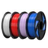 TronHoo® 1 kg TPU-Filament 1,75 mm Schwarz / Weiß / Grau / Blau für 3D-Drucker