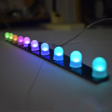 Geekcreit®DIY C51 RGBカラフルなクリスタルLEDオーロラカラフルな点滅ライトキット