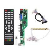 T.RD8503.03 Universal LCD LED Controlador de TV Placa del controlador TV / PC / VGA / HDMI / USB + Botón de 7 teclas + 2ch 8bit 30 LVDS Cable