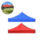 2x2 м 420D Оксфорд Анти UV Верхняя крышка палатки для замены навеса Четырехугольный тент Складная крыша Зонт от солнца для Кемпинг Сад Патио На