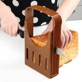 Prático pão de cozinha pão torrada fatiador cortador fabricante de moldes de ferramentas de corte