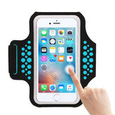 Haissky Waterproof Arm Bag Running Arm Belt Sports Phone Case Armband for under 5.5 inches Phone