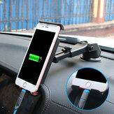 Bakeey ™ Support de téléphone multifonctionnel ventouse voiture tableau de bord support de support de téléphone de voiture pour smartphone pour iPad GPS