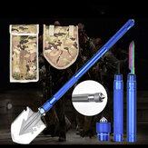 Многофункциональный тактический складной свисток для ножей 5-в-1 Отвертка Выживание в чрезвычайной ситуации Инструмент Набор На открытом