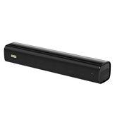 Blitzwolf® BW-SDB0 Pro Mini barre de son Bluetooth pour ordinateur de bureau ou portable avec son stéréo, design unique, connexion filaire et sans fil, alimentée par USB