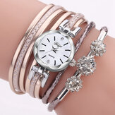 Duoya Luxury Women Quartz horloge
