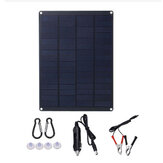 18V Portable Solar Panel Kit Outdoor Camping Car Caravan Boat Charger Battery