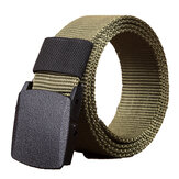 140cm KALOAD R01 Men Women Canvas Regulowany pasek Quick Release Tactical Belt PE Buckle 3.8cm Szerokość paska
