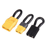 60mm 12AWG XT60 / XT90 Plug Conector Jumper Shorting Plug Single Bateria Adaptador de loop para RC Bateria