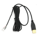 USB Gold Plated Replacement Gaming Mouse Cable For Razer DeathAdder