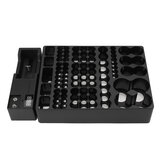 Battery Holder Storage Box Case Organizer with Removable Voltage Tester For AAA AA 88 Batteries